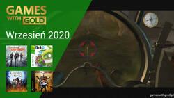 Wrzesień 2020 - darmowe gry w Games With Gold