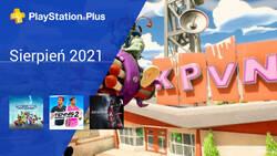 Sierpień 2021 - darmowe gry w PlayStation Plus