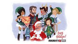 Wesołych Świąt życzy Naughty Dog