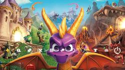 Darmowy motyw ze Spyro