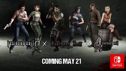 Aż trzy części Resident Evil zmierzają na Switcha