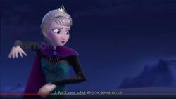 Znak wodny w renderze jednej ze scen Kingdom Hearts 3