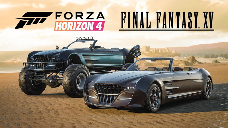 Regalia z Final Fantasy XV trafiła do Forzy Horizon 4