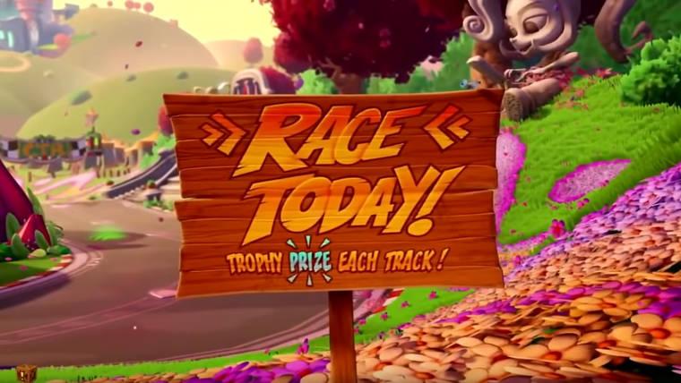 Crash Team Racing: Nitro Fueled - intro i zmiany w Adventure Mode
