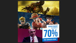 Promocje na gry w PS Store