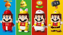 Lego Mario z fizycznym klockowym DLC