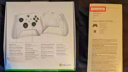Xbox Series S na wyciekach pudełek do padów dla konsoli