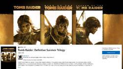 Sklep Microsoftu znów źródłem wycieku. Potrójny Tomb Raider zmierza na konsole