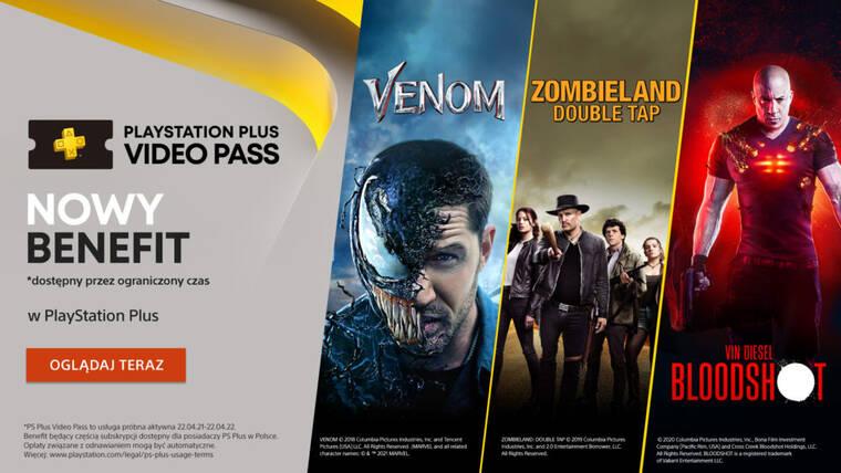 PlayStation Plus Video Pass - dziś start, na razie tylko w Polsce!