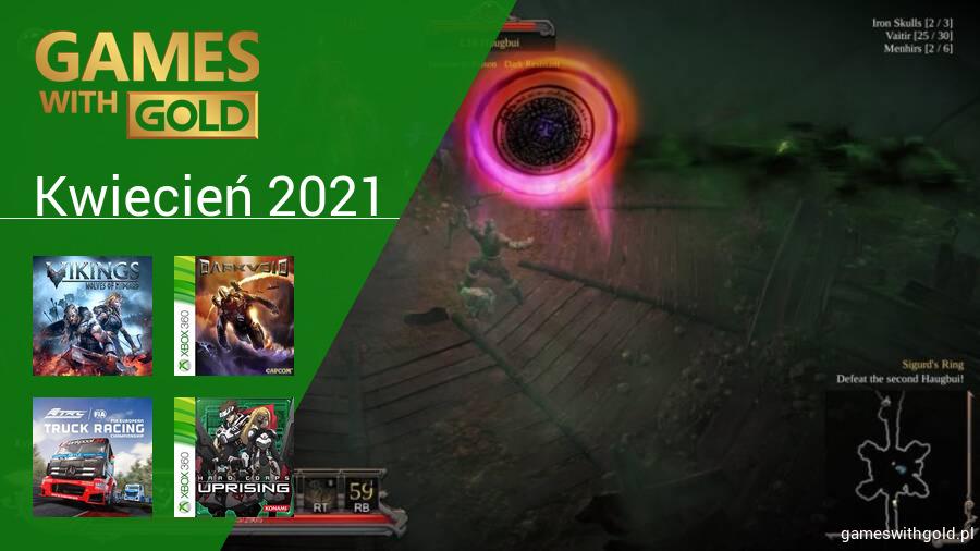 Kwiecień 2021 - darmowe gry w Games With Gold