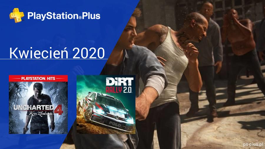 Kwiecień 2020 - darmowe gry w PlayStation Plus