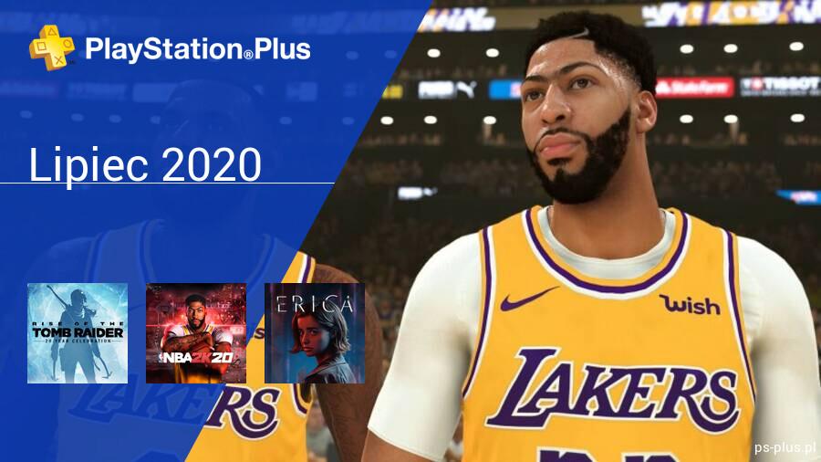 Lipiec 2020 - darmowe gry w PlayStation Plus