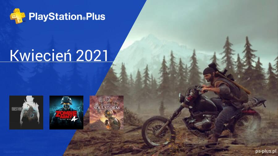 Kwiecień 2021 - darmowe gry w PlayStation Plus