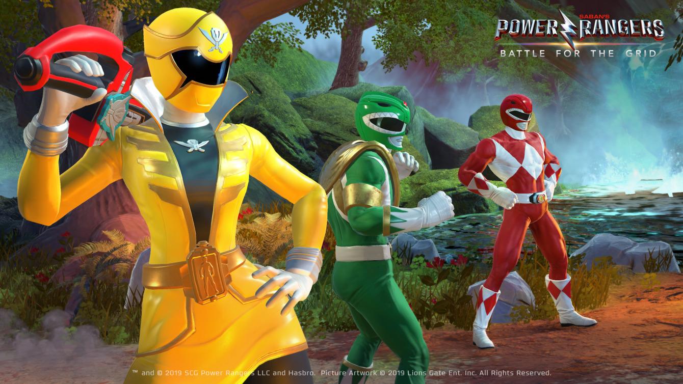 Zapowiedziano Power Rangers: Battle for the Grid