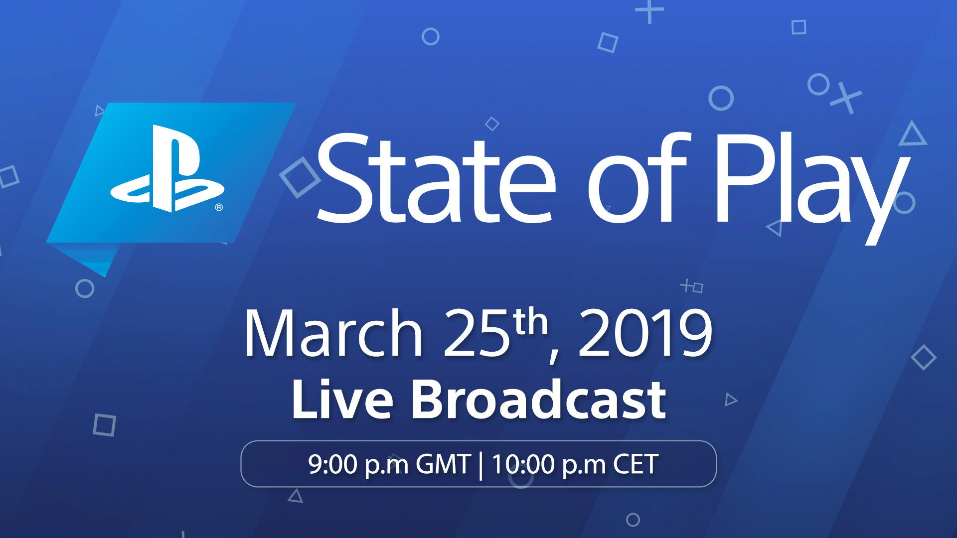 Sony zapowiada na poniedziałek prezentację - State of Play